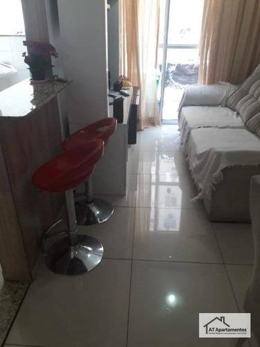 Imagem 1 de 30 de Apartamento Com 2 Dormitórios Para Alugar, 48 M² Por R$ 1.400,00/mês - São Cristóvão - Rio De Janeiro/rj - Ap0139