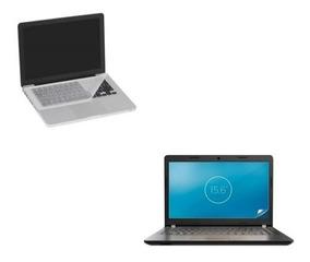 Pelicula Tela Notebook 15.6 + Pelicula Teclado 15.6 Kit
