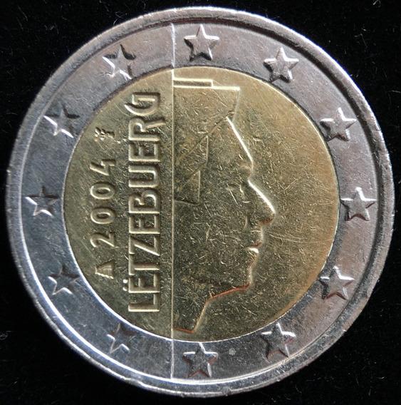 Luxemburgo, 2 Euros, 2004. Bimetalica. Vf+