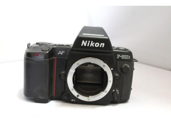 Câmera Fotografica Nikon F-801 Colecionadores Retirada Peça