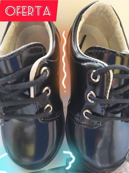 Zapatos Pimpolho Negros De Charol Tallas 21 ,22,23,24,25