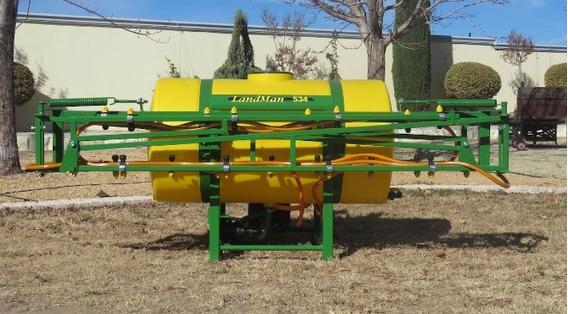 Aspersora Fumigadora Para Tractor Agricola 500 Litros 10 Mt