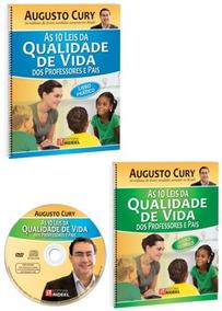 10 Leis Da Qualidade De Vida Augusto Cury Editora Rideel