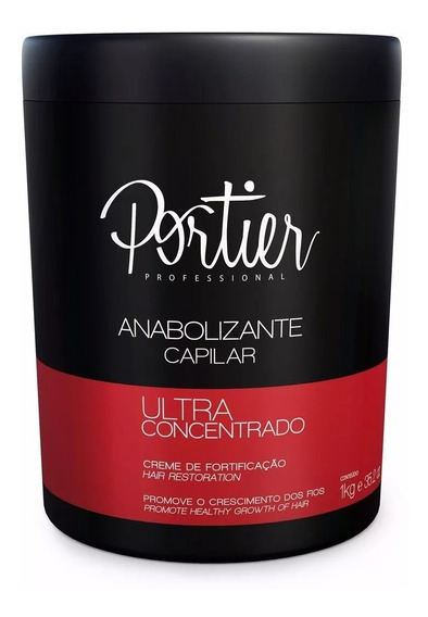 Mascara Anabolizzannte Capilar 1kg Portier - Pronta Entrega