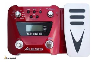 Alesis Warp Drive 100 Pedalera Multiefectos Oferta