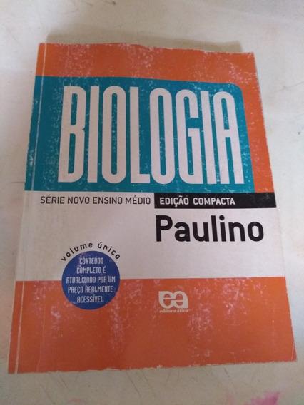 Biologia Serie Novo Ensino Medio Edicao Compacta