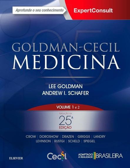 Goldman-cecil Medicina - Vol. 1 E 2 - 25ª Ed. 2018