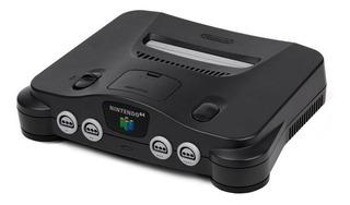 Nintendo N64 64MB negro