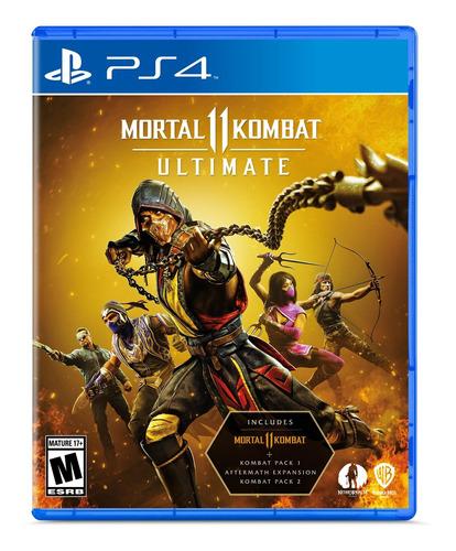Imagen 1 de 9 de Mortal Kombat 11 Ultimate Formato Físico Ps4 Original