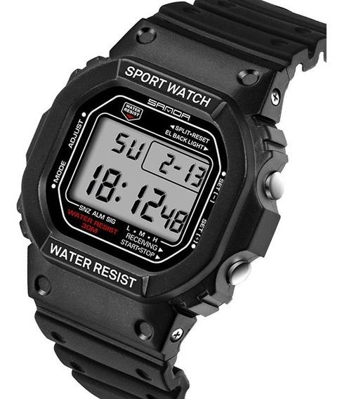 Relógio Masculino Sanda 329 Super Resistente A Prova D Água