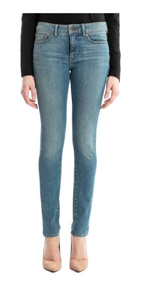 Escoge Tu Pantalón Dockers® Mujer Mid-rise Skinny Azul Rosa