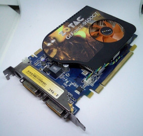 Placa De Vídeo Zotac Geforce 9500gt 1 Gb Ddr3