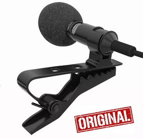 Microfone De Lapela Vídeos Youtube Conectar No Celular