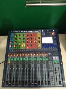 Mesa De Som Digital Si Expression 1 Soundcraft 20 Canais