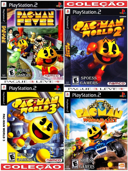 Pac-man Ps2 (4 Dvds) Patch .