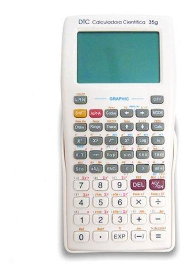 Calculadora Dtc 35g Branca Scientific 360 Funcoes