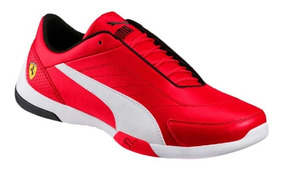 Tenis Casual Puma Sf Kart Cat Iii Jr Rojo Niño 822595 Brake