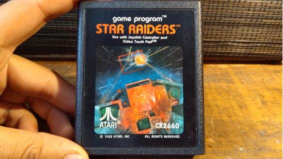 Juego De Atari 2600 Star Raiders