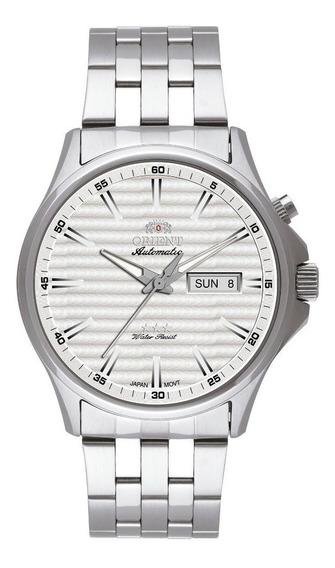 Relógio Orient Automático Masculino Prata 469ss043 S1sx