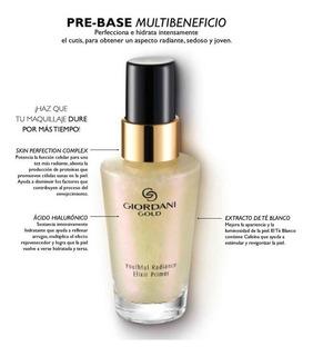 Pre Base Maquillaje Multibeneficios Giordani Gold Oriflame