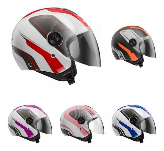 Capacete Moto Honda Aberto Hnj Original - Diversas Cores