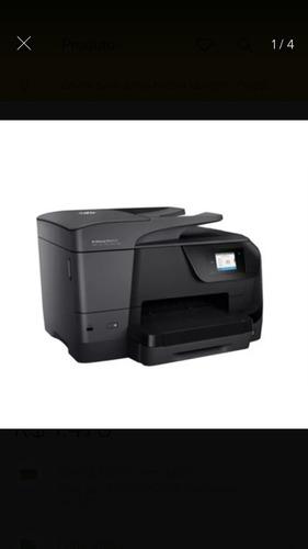 Multifuncional Hp Officejet Pro 8710 Desbloqueada+kitbulkink