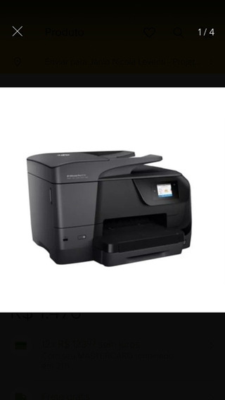 Multifuncional Hp Officejet Pro 8710 Desbloqueada+kitbulkink