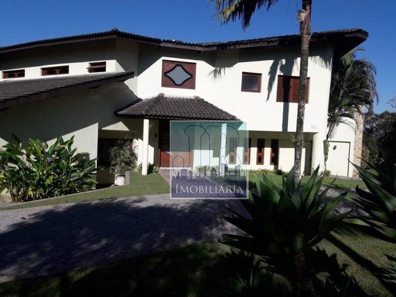 Casa Com 5 Dormitórios Para Alugar, 780 M² Por R$ 10.000,00/mês - Nova Higienópolis - Jandira/sp - Ca0094