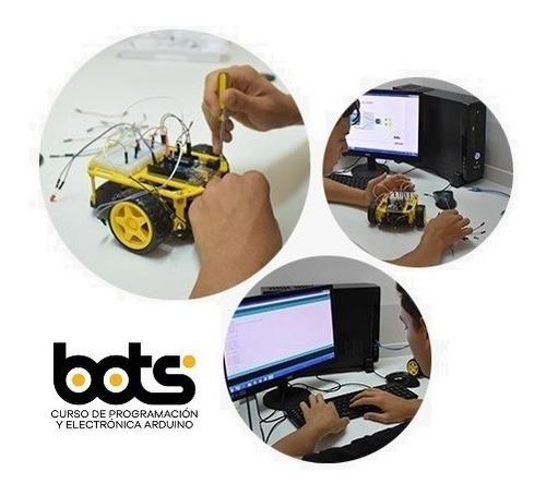 Bots Curso De Robótica A Distancia Kit Arduino Mercado Libre