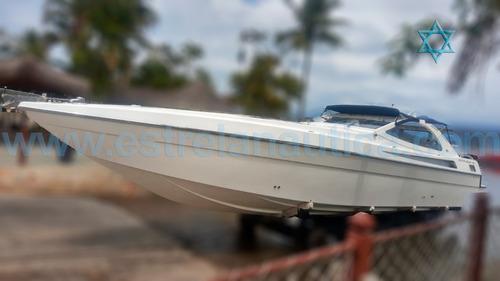Lancha Excalibur 45 Barco Iate N Ferretti Phantom Sunseeker