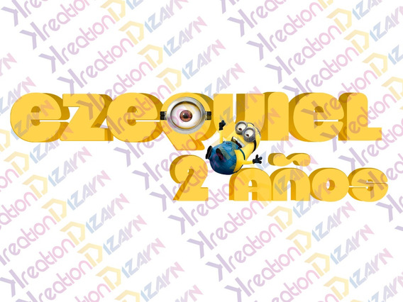 Logo Personalizado De Minions