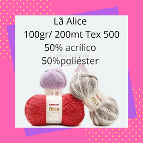 Kit Com 14 Novelos Lã Alice Círculo 100gr