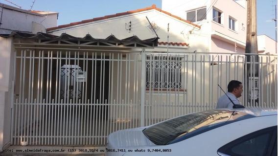 Casa Para Locação Em Sorocaba, Vila Santana, 2 Dormitórios, 1 Banheiro, 2 Vagas - Loc-828_1-1275044
