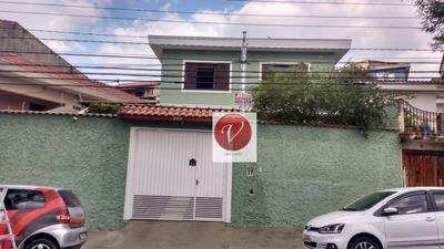 Sobrado Com 3 Dormitórios À Venda, 230 M² Por R$ 650.000 - Vila Curuçá - Santo André/sp - So0776