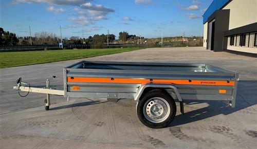 Trailer Temared Eco 2312-kipp 2.36 X1.25mts - 750kg S/frenos
