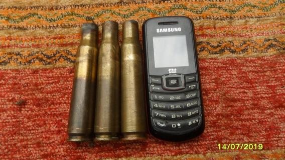 Lote 3 Antigua Vaina 12.7 Ametralladora Ideal Cabo Cuchillo