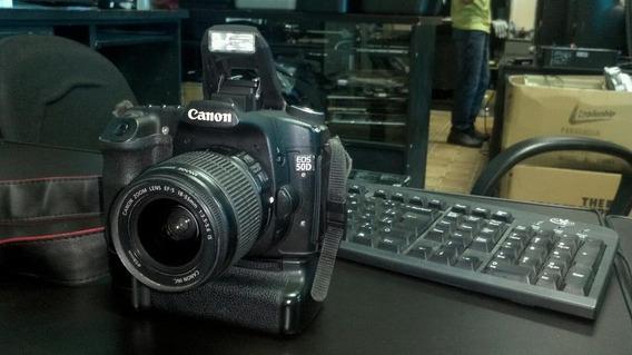 Canon Eos 50d Com Gripe E Lente 18-55