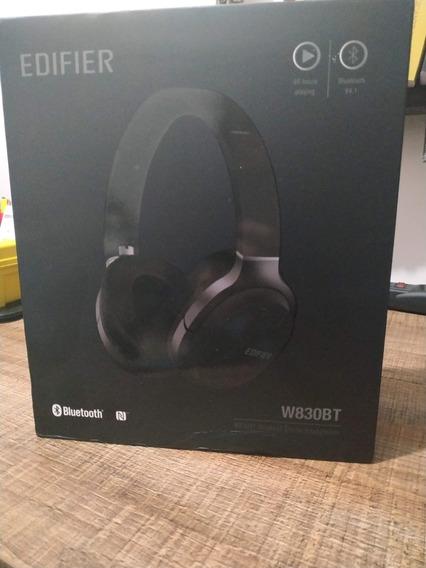 Fone De Ouvido Edifier Sem Fio Bluetooth W830bt Preto