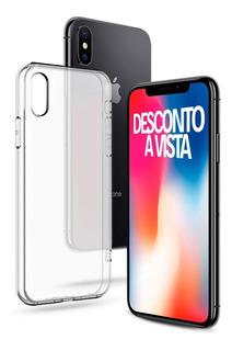 iPhone X Cinza Espacial 256gb 1 Ano De Garantia + Nfe + Capa