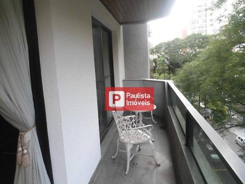 Apartamento Para Alugar, 205 M² Por R$ 7.500,00/mês - Moema - São Paulo/sp - Ap17222