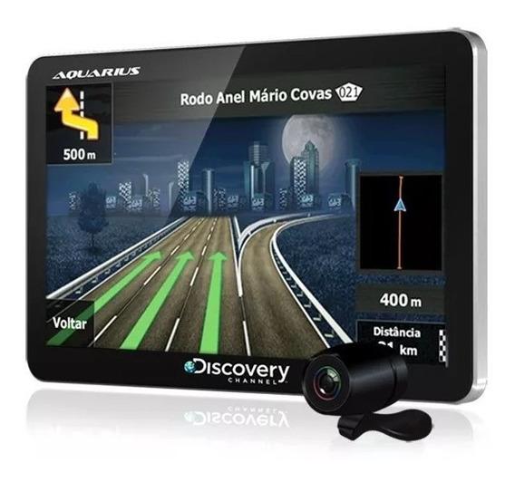 Navegador Gps 4.3 Polegadas Automotivo Câmera Ré Tv Digital