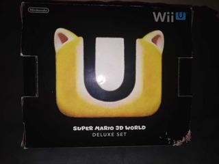 Nintendo Wii U Delux Set Super Mario 3d World