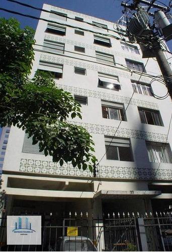 Imagem 1 de 20 de Apartamento Com 2 Dormitórios, 66 M² - Venda Por R$ 700.000 Ou Aluguel Por R$ 2.600/mês - Moema - São Paulo/sp - Ap3831