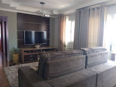 Apartamento Com 3 Dormitórios À Venda, 95 M² Por R$ 790.000 - Mansões Santo Antônio - Campinas/sp - Ap17588