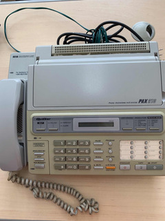 Aparelho De Fax Com Telefone Quasar Pax 210 Usado