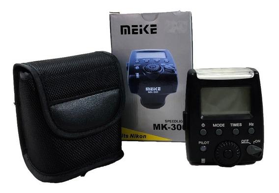 Flash Meike Mk-300 Conservado Seminovo Lojista