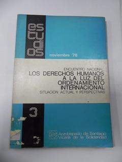 Derechos Humanos A La Luz Del Ordamiento Internacional 1978