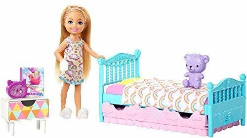 Barbie Club Chelsea Juego Para Dormir