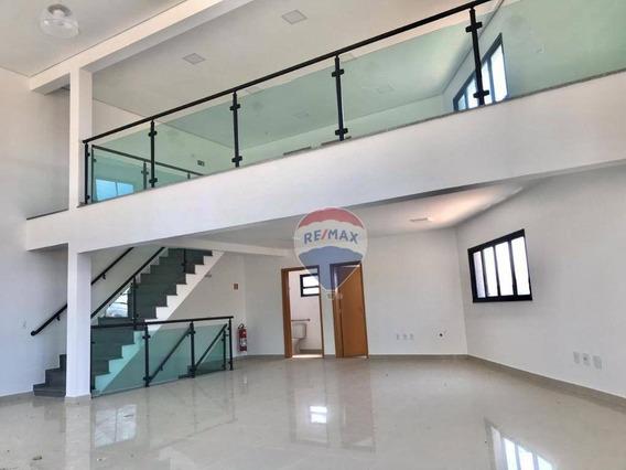 Salão Para Alugar, 226 M² Por R$ 6.500,00/mês - Jardim Jaraguá - Atibaia/sp - Sl0042