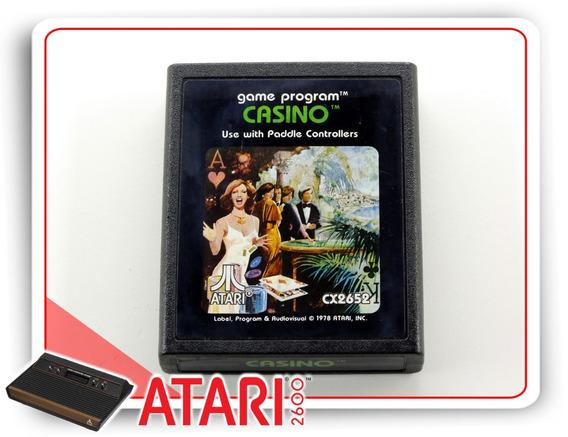 Casino Cartucho Original Atari